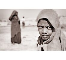 Desert Eyes Photographic Print
