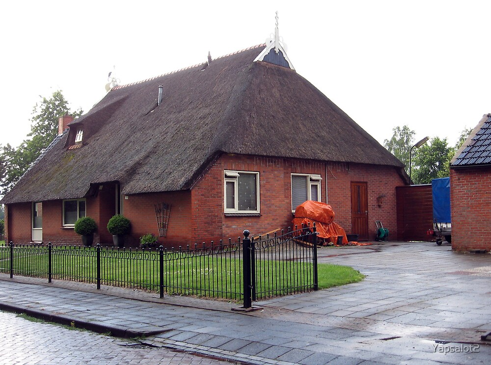 Europe Thatch House by Yapsalot2