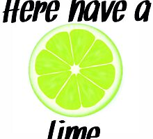 Here, have a lime by frantasticcath