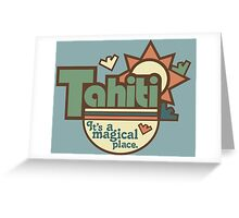 Tahiti Greeting Card