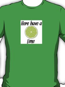 Here, have a lime T-Shirt
