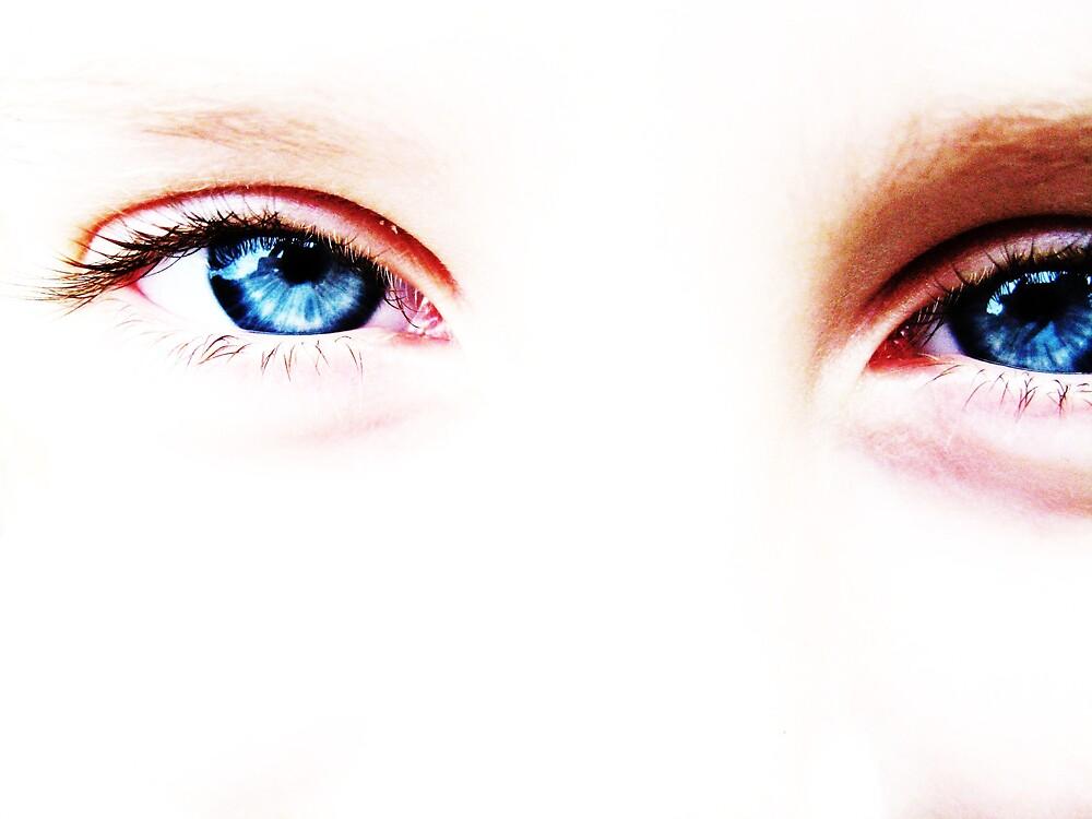 Baby Blue Eyes by Sara Wiggins