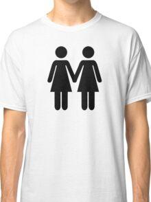 Lesbian couple Classic T-Shirt