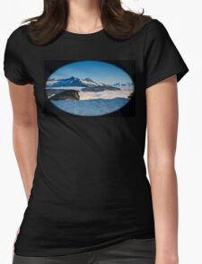 The Monashee Mountains Womens Fitted T-Shirt