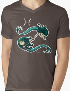 Astrology - Pisces Mens V-Neck T-Shirt