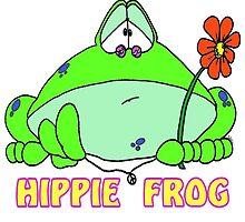 Hippie Frog by Skree