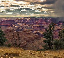 Storm over the canyon. by philw