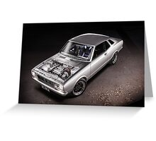 Johnny's SR20 Datsun Coupe Greeting Card