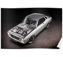 Johnny's SR20 Datsun Coupe Poster