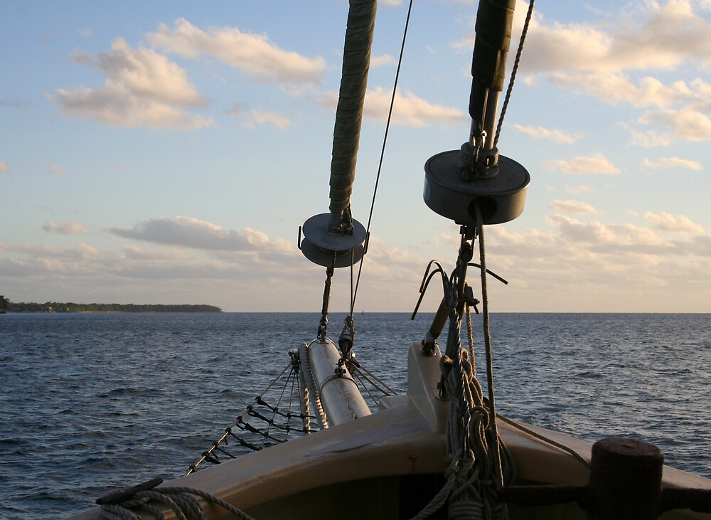 sailing by Kim Langmaid