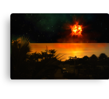 The Last Sunset. Canvas Print