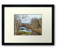 Winter Respite Framed Print