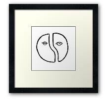Origin of Love Framed Print