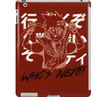 "Sakura ""Who's next"" Street Fighter iPad Case/Skin"
