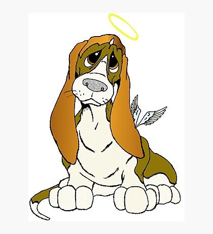 Angel Puppy Photographic Print