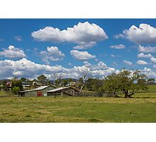 Rural Scene at Kilcoy Photographic Print
