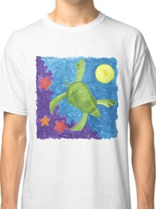 MARY'S HONU SEA TURTLE SWIMS DEEP Classic T-Shirt