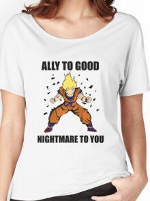 Goku powerup Women's Relaxed Fit T-Shirt