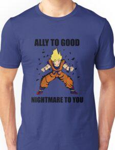 Goku powerup Unisex T-Shirt