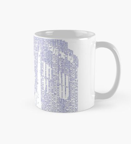 Who, I am Tardis Word Art Mug