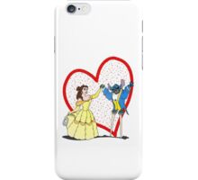 Beauty and the Stitch iPhone Case/Skin