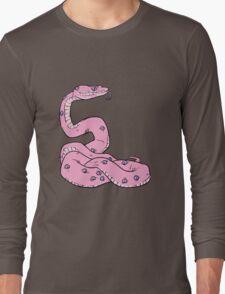 SNAKE EYES (pastel pink) Long Sleeve T-Shirt