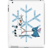 Olaf & Stitch iPad Case/Skin