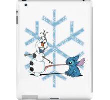 Olaf & Stitch iPad Case/Skin