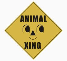 Animal Xing Street Sign Kids Clothes