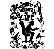 Gamer 4 Life Photographic Print