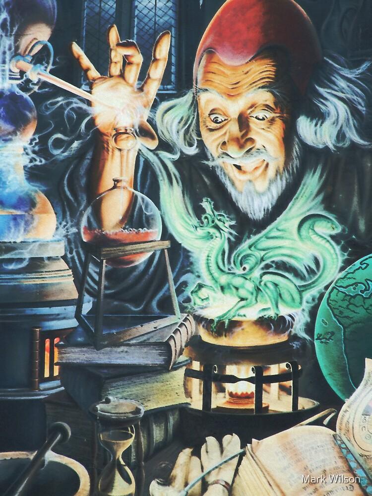 Alchemist and the Dragon by Mark Wilson