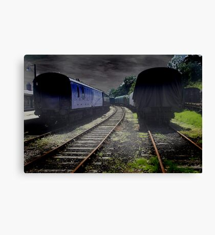 Old Stock Canvas Print