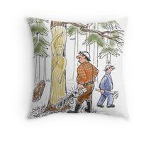 Lumber Jackson Throw Pillow