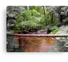 Lovely Stream from the Aira Force Waterfall - Lake District Canvas Print