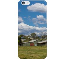 Rural Scene at Kilcoy iPhone Case/Skin