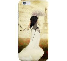 April in Paris iPhone Case/Skin