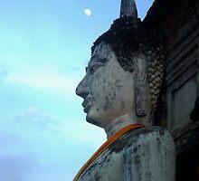 Buddha Moon  by Emma  Brown