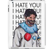 """Dandy Mott """"I hate you"""" iPad Case/Skin"""
