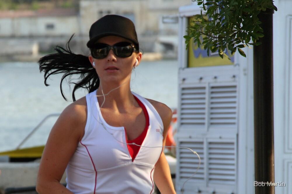 Hot jogger by Bob Martin