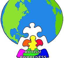 Autism Awareness by Skree