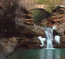 Upper Falls in Winter by Paul S.  Atkinson