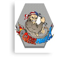 Grease Monkey Logo Canvas Print