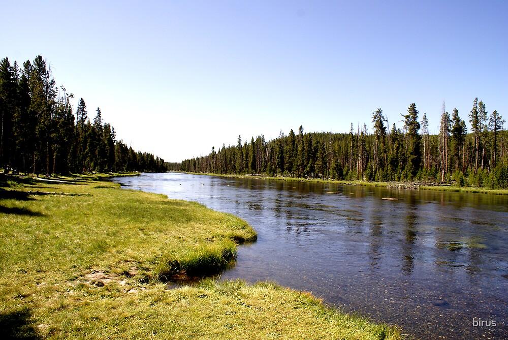 yellowstone river by birus