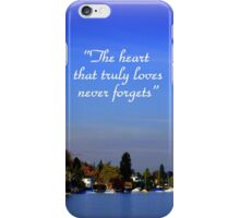 The Beauty of Zurisee iPhone Case/Skin
