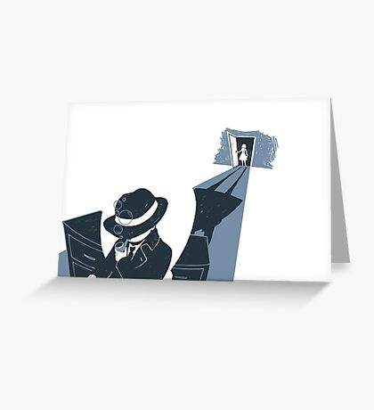 The Detective Greeting Card