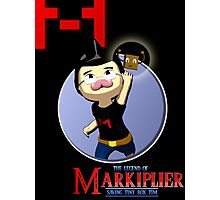 The Legend of Markiplier Saving Tiny Box Tim Photographic Print