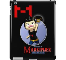 The Legend of Markiplier Saving Tiny Box Tim iPad Case/Skin