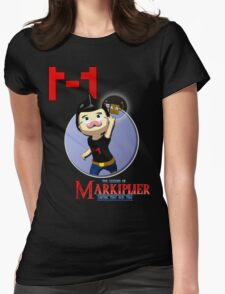 The Legend of Markiplier Saving Tiny Box Tim Womens Fitted T-Shirt