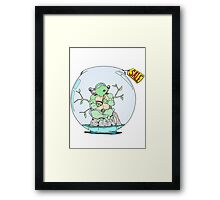 Turtle for Sale Framed Print