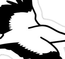 Crane stork Sticker